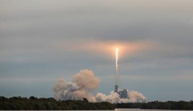Força Aérea americana lança programa de entrega de trouxa por foguetes e espaçonaves