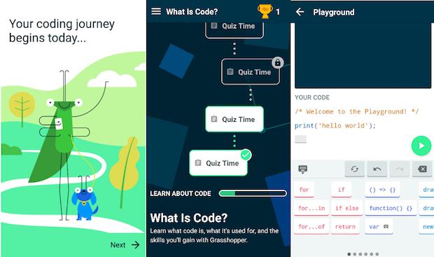 Grasshopper: conheça o game interativo que ensina a programar no celular