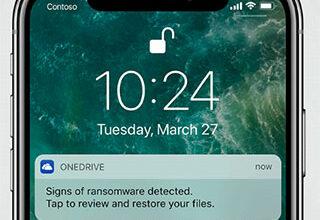 OneDrive poderá restaurar arquivos danificados por vírus de resgate