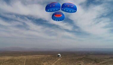 Primeiro assento em voo espacial da Blue Origin é vendido por US$ 28 milhões