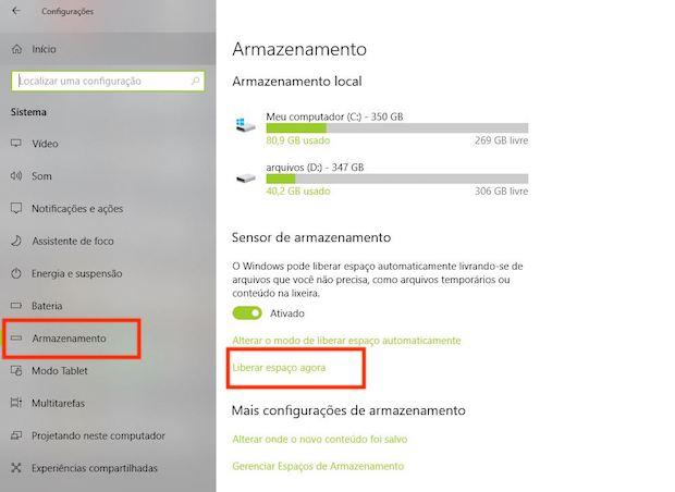 Windows 10 Spring Creators Update: instalou a atualização do sistema? Veja como liberar até 10 GB de espaço no HD
