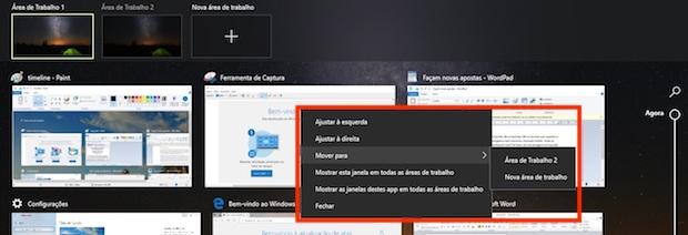 Windows 10 Timeline: saiba como usar a nova ferramenta que simplifica o gerenciamento da Área de Trabalho